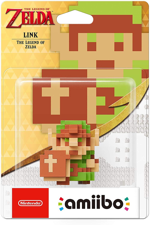 8-Bit Link The Legend of Zelda Link amiibo - TLOZ Collection @ Amazon £10.99 (Prime) £13.98 (Non Prime)