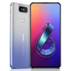 ASUS Zenfone 6 6.4 inch 6GB + 64GB Full-screen Global Version Smartphone - Silver £393.50 @ Gearbest