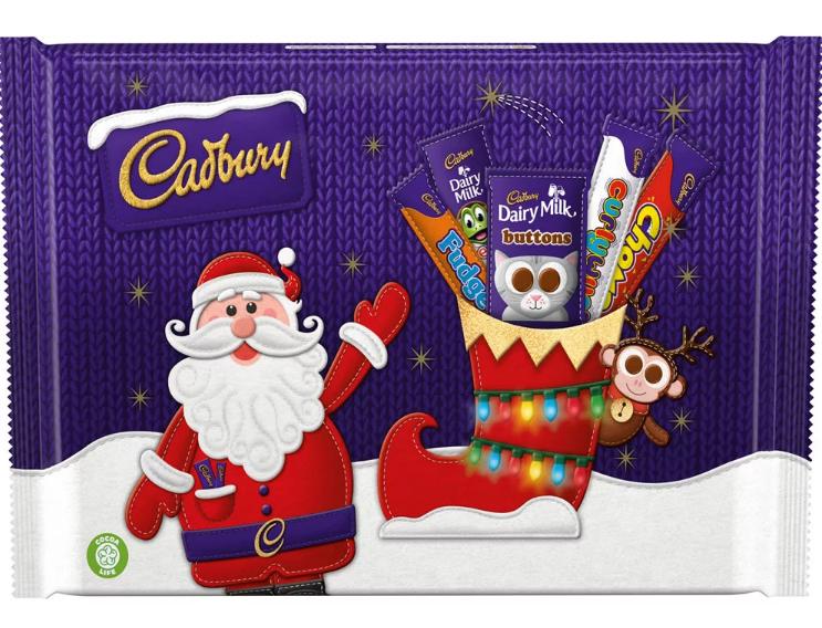 Cadbury selection box small - 89p @ B&M Bangor Co down