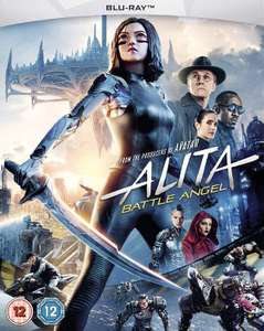 Alita: Battle Angel (2019) [Blu-ray] £7 with Prime (£9.99 without Prime) @ Amazon