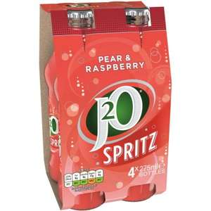 J2O Spritz Pear & Raspberry 4 x 275ml £1 at JTF