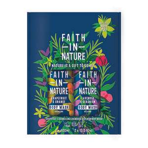 Faith in Nature boghp gift sets £12 in Holland and Barrett