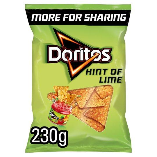 Doritos Hint of Lime - 230g 20p @ Saisburys (South Woodford)