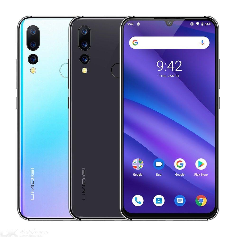 UMIDIGI A5 PRO 4GB RAM 32GB ROM Android 9.0 Smartphone Octa Core 6.3 inch FHD+ 16MP Triple Camera 4150mAh £74.67 at DealExtreme