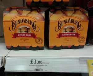 Bundaberg Ginger Beer £1 for a pack of 4x375ml bottles at Home Bargains Bidston Moss (& other stores)