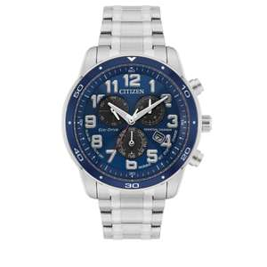 Citizen Eco Drive Men's Stainless Steel Chronograph BL5518-52L Watch - £215.10 Free Delivery / C&C From Goldsmiths