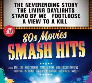 Smash Hits 80s Movies CD (Includes AutoRip) £4.94 with Prime or 5.93 without Prime at Amazon