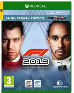 F1 2019 Xbox One with 6 months Spotify £34.97 @ Currys PC World
