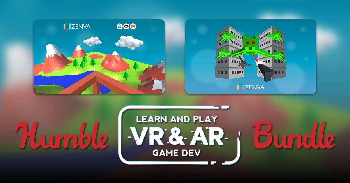 Learn & Play VR Dev Bundle 78p @ Humble Bundle