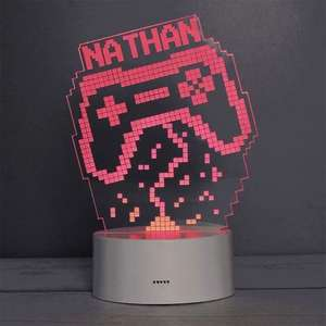 Personalised (With Name) Gamer Light - Exclusive To Menkind £23 Delivered @ Menkind