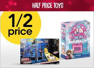1/2 Price Toy Event @ Wilko (Online and Instore