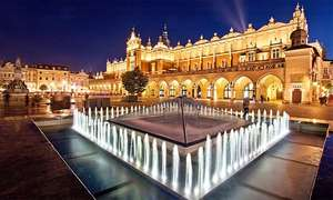 Krakow: 2 Nights at a 3* Hotel including Auschwitz Tour and Return Flights from London £71.20 (£142.40 total) @ Groupon / Weekender Breaks