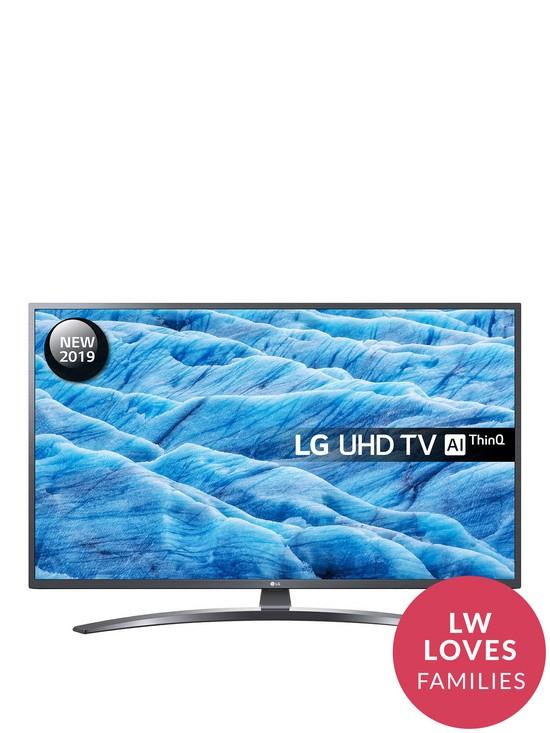 LG 43UM7400PLB 4K Active HDR UHD TV with Advanced Colour Enhancer - £369 @ Littlewoods