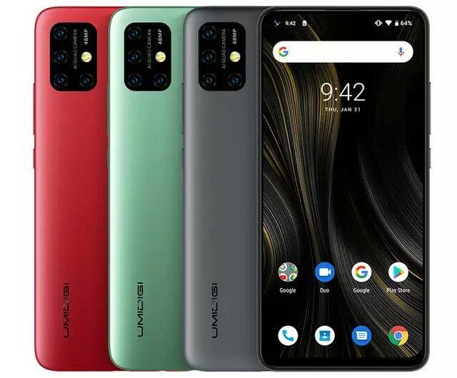 UMIDIGI Power 3, NFC, Stock Android 10, 48MP Quad AI Camera 6150mAh 4GB 64GB Helio P60 Global Version - £134.28 @ AliExpress / Umdigi Store