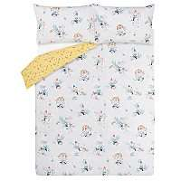 1/2 Price : Gnomes Reversible flowers & rainbows double Duvet Set Now £6 @ Asda ( Free Click & Collect )