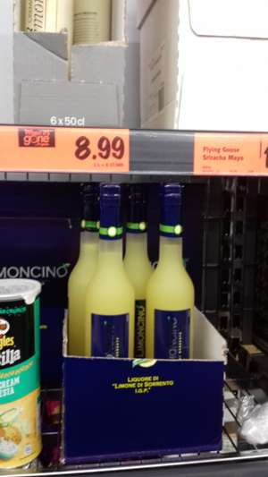 Limoncino 50cl £8.99 @ Lidl