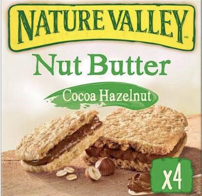 Nature Valley Hazelnut bars (4 pack) - £1 Instore @ Heron (Wednesbury)