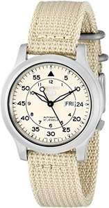 Seiko SNK803K2 Automatic Beige Dial Watch @ Amazon US £66.93 + £3.65 UK Delivery