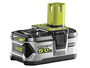 Ryobi ONE+ Lithium+ 5.0Ah Battery £23.49 For Amazon Business Account Holders @ Amazon
