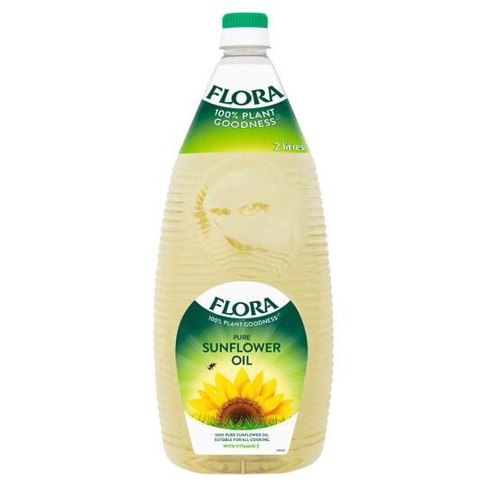 Flora Pure Sunflower Oil 2L £2.50 @ Tesco