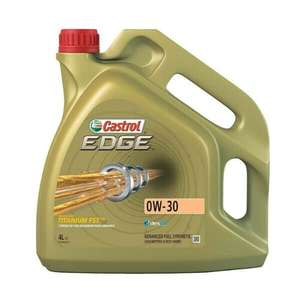 4 Litres 4L Castrol Edge 0W30 Fully Synthetic Engine Oil - £28.57 @ eBay / carpartsbargain