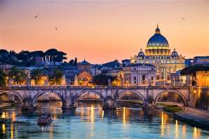 2 nights for 2 People in Rome at £64 each (£127.65 total - min 2 people) at a Choice of Hotels with Breakfast and Flights @ Groupon