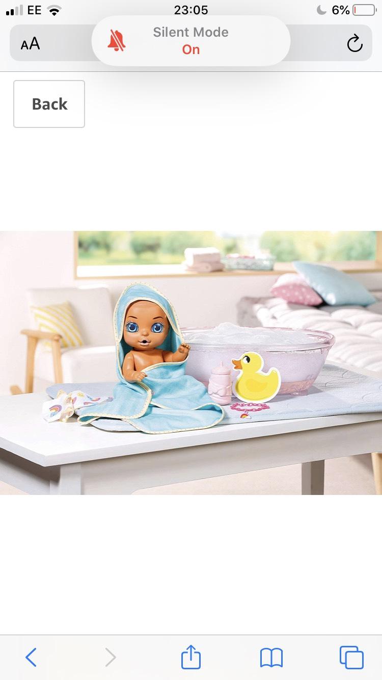 Baby Born 904114 Bathtub Surprise, £25.99 from Amazon.