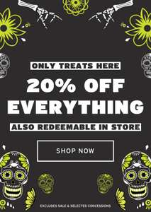 Topshop 20% Off Everything