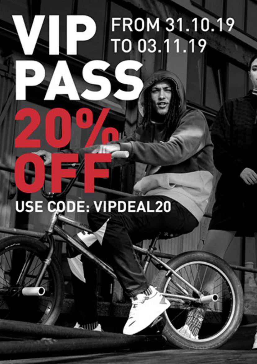 20% off with Voucher Code @ Footlocker