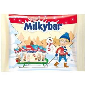 Nestles Milkybar Selection Pack 60g - 75p in store at Wilko