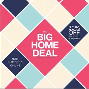 Matalan up to 30% off Homeware - Online and Instore - Items Starting from 70p