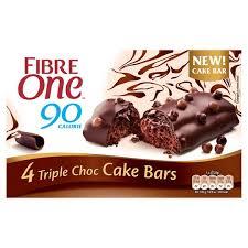 4 X Fibre One Bars (Triple Chocolate / Carrot Cake) £1 @ Asda