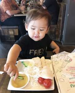 Kids eat free at Pho Vietnamese food this weekend with a paying adult