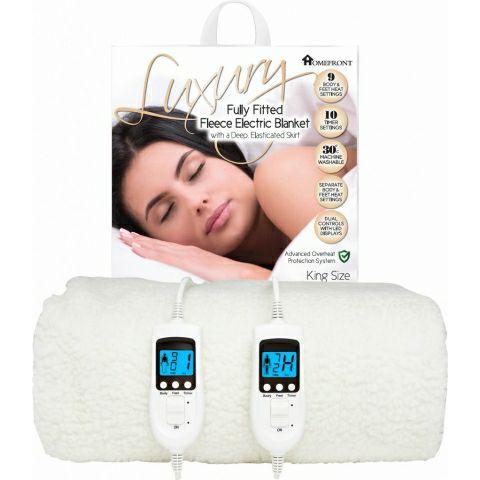 Homefront Electric Fleece Blanket King Size Dual Control - £59.95 @ eBay / hsd-online