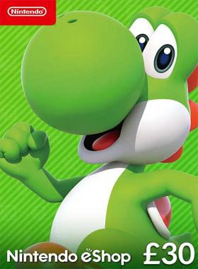 £30 Nintendo e-shop card for £26.87. (£26.07 with Facebook like)