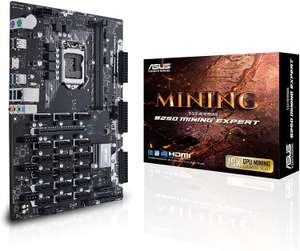 Asus B250 mining expert motherboard only £19.97 Prime (+£4.49 non Prime under £20) @ Amazon