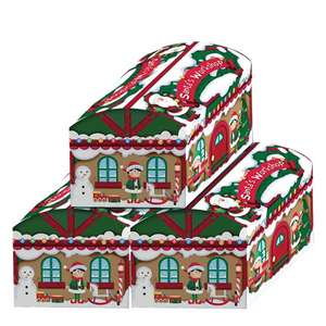 Santas Workshop Toy Chest Boxes - Pack of 3 at Party Delights for £17.94 delivered