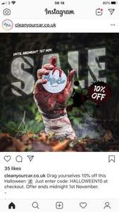 10% off at cleanyourcar