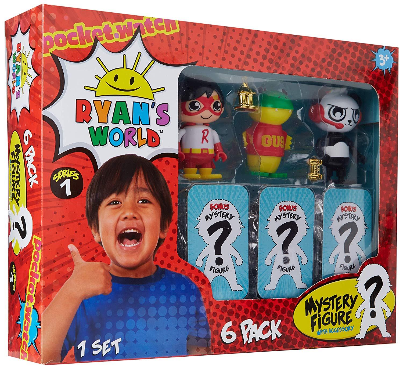 Ryan's World 6 figure set £16.99 at Amazon