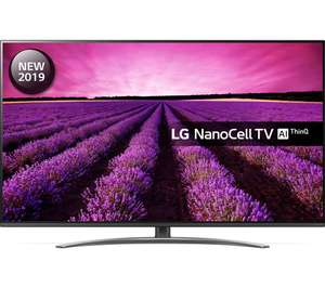 """LG 65SM8200PLA 65"""" Smart 4K Nanocell Ultra HD HDR LED TV with Google Assistant only £799 with code @ Currys"""