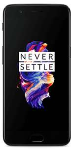 OnePlus 5 Refurbished Like New (Midnight Black) 128GB Sim Free, £189 +£10 top up non members @ GiffGaff (£55 cb on Quidco, essentially £134)