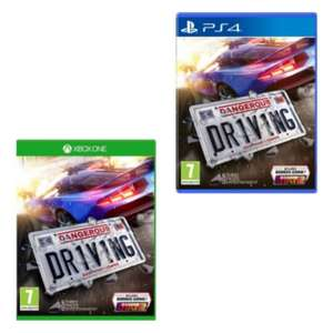 [Xbox One/PS4] Dangerous Driving - £14.95 delivered @ The Game Collection