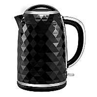 Black Diamond Effect 1.7L Kettle , Now £13 + 2 Years Guarantee @ Asda ( Free Click & Collect )