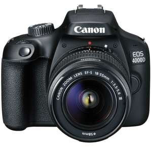 Canon EOS 4000D DSLR Kit with 18-55 III Lens - £199.99 eglobal central