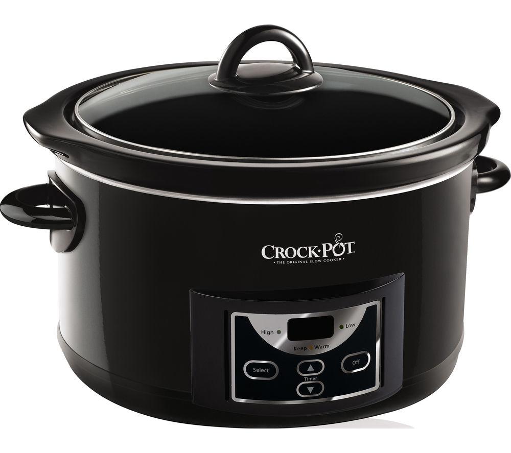 CROCK-POT Slow Cooker - Black - £39.99 @ Currys PC World