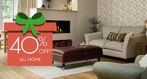 40 % on all christmas shop, home, furniture and curtains @ laura ashley