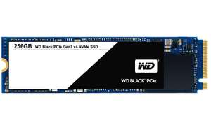WD 256GB Black PCIe High Performance SSD Solid State Drive NVMe £40.54 (£39 with fee free card) Delivered @ Amazon Italy