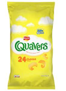 24 Bags of Quavers £3 at B&M Stores