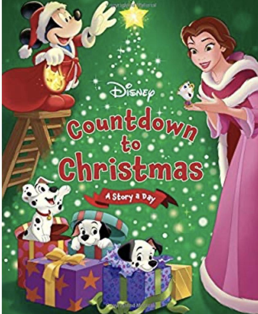 Disney Countdown to Christmas Hardcover £8.11 (Prime + £2.99 Non Prime) @ Amazon