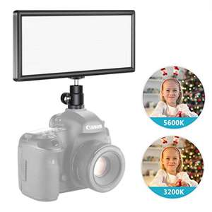 Neewer T120Slim Dimmable - LED Panel Light With 6 brightness settings For DSLR Cameras - £17.99 For All - Sold by GrandTrading UK / Amazon